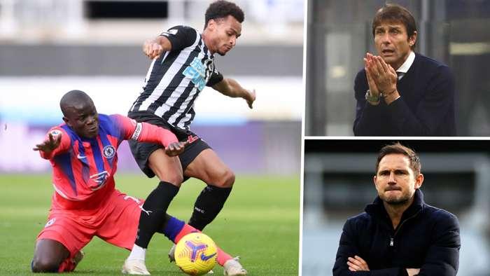 N'Golo Kante Frank Lampard Antonio Conte Chelsea GFX