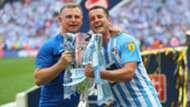 Mark Robins Michael Doyle Coventry City Football League 2 playoff 05282018