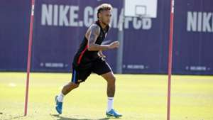 Neymar Barcelona training 17072017