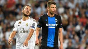 Eden Hazard Brandon Mechele Real Madrid Club Brugge UCL 01102019