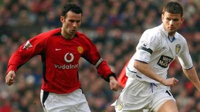 Ryan Giggs Manchester United Eirik Bakke Leeds United 2004