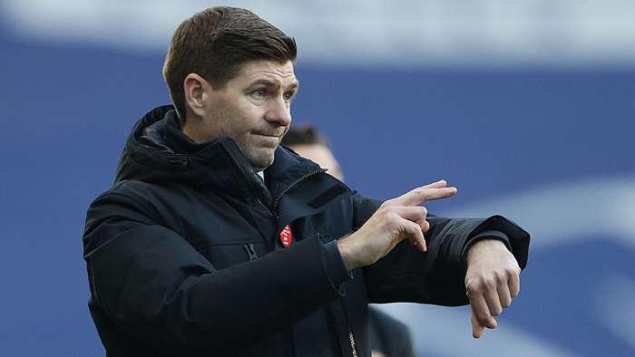 Steven Gerrard Rangers 2020-21