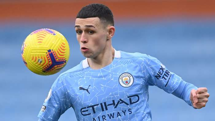 Phil Foden Man City 2020-21