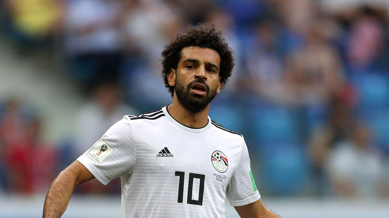 Mohamed Salah Egypt Saudi Arabia World Cup 2018 250618