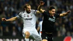 Giorgio Chiellini Porto Juventus