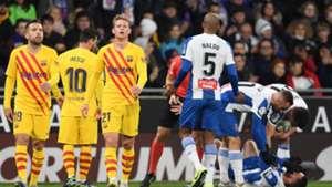 Espanyol-Barça (2-2) - Les Blaugrana partagent les points dans le derby
