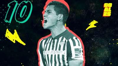 Goal 25 2020 10 Aïssa Mandi Real Betis Algeria