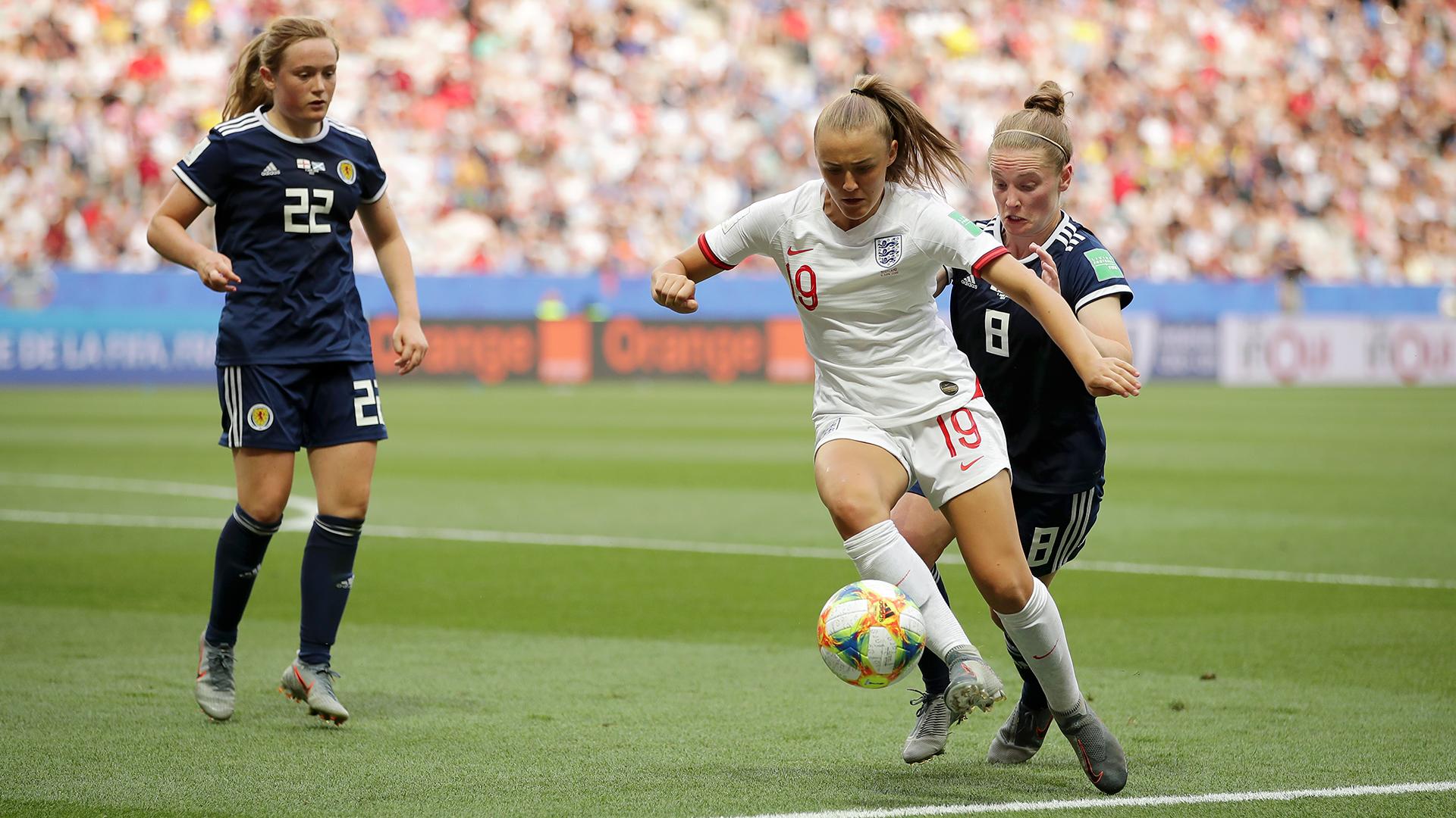 Kim Little Georgia Stanway England Scotland 2019