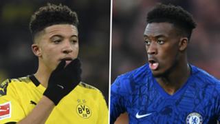 Jadon Sancho Callum Hudson-Odoi Chelsea Borussia Dortmund 2019-20