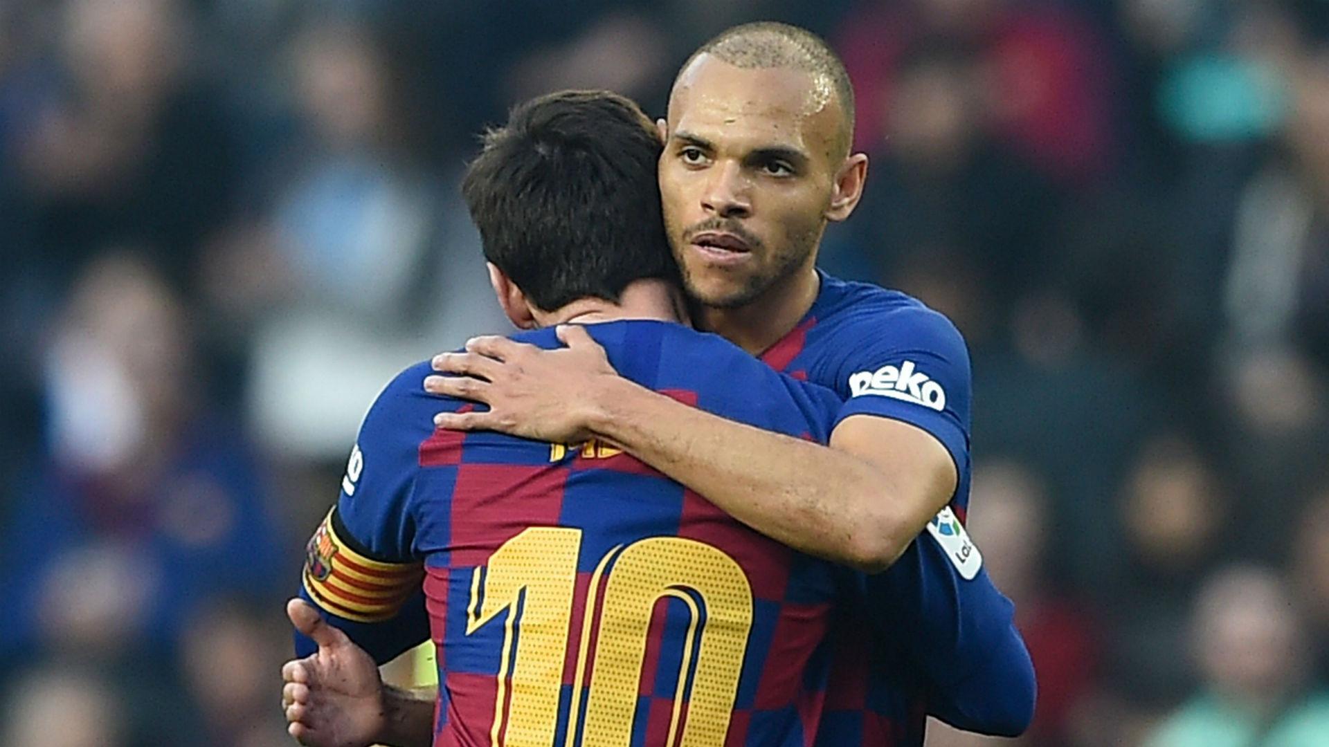 "Braithwaite: ""No me lavaré la ropa hoy, me ha abrazado Messi ..."
