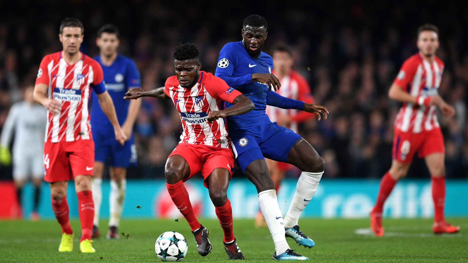 Bakayoko Chelsea Atletico Madrid