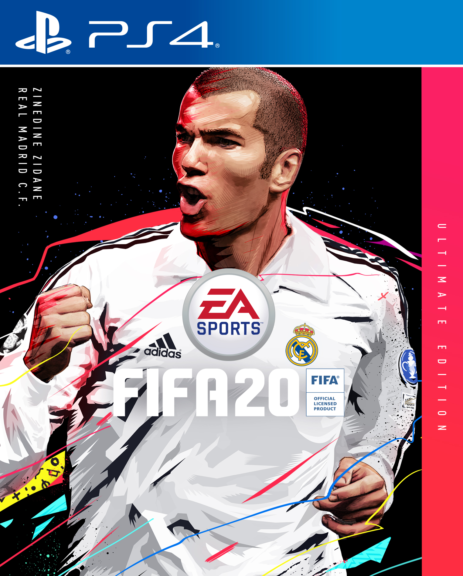 Zinedine Zidane FIFA Ultimate Edition