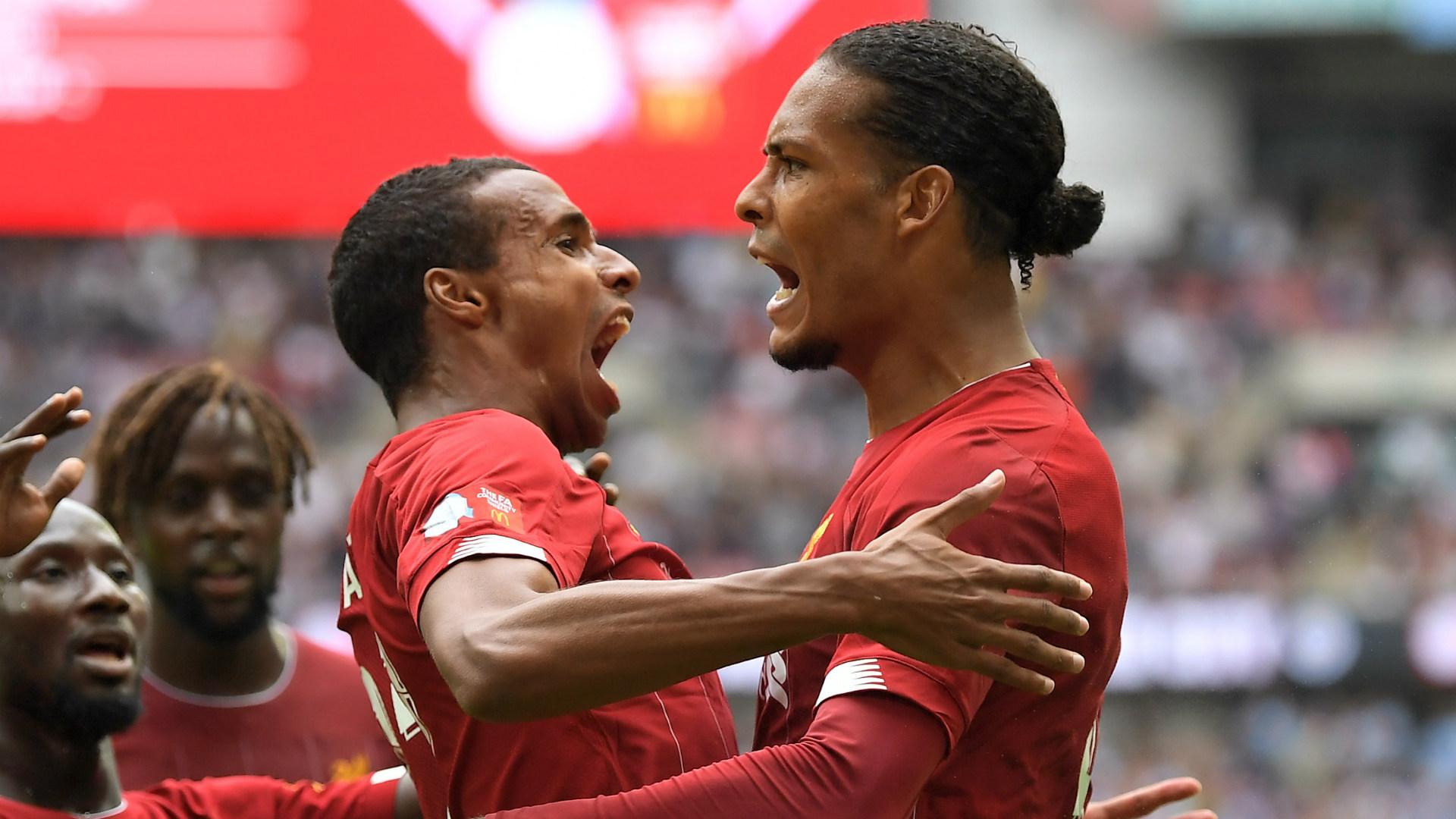 Joel Matip Virgil van Dijk Liverpool 2019-20
