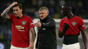 Victor Lindelof Eric Bailly Ole Gunnar Solskjaer Manchester United 2019-20