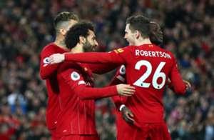 Robertson, Salah, Mane and Firmino