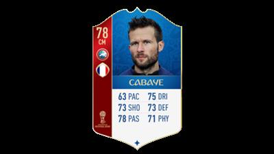 FIFA 18 World Cup France Cabaye