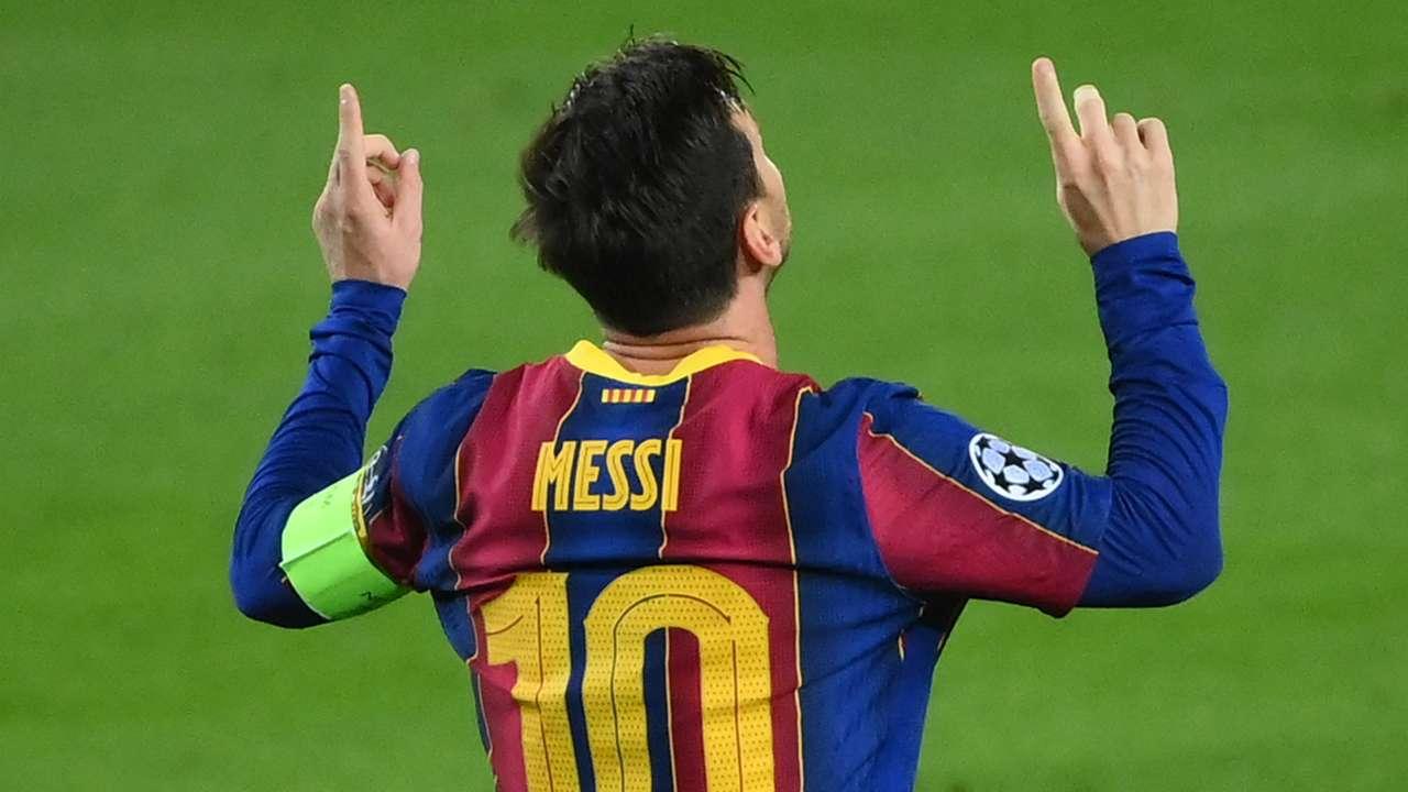 Lionel Messi, Barcelona, Champions League 2020-21