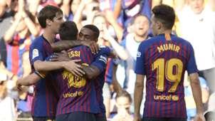 Malcom Lionel Messi Barcelona 2018