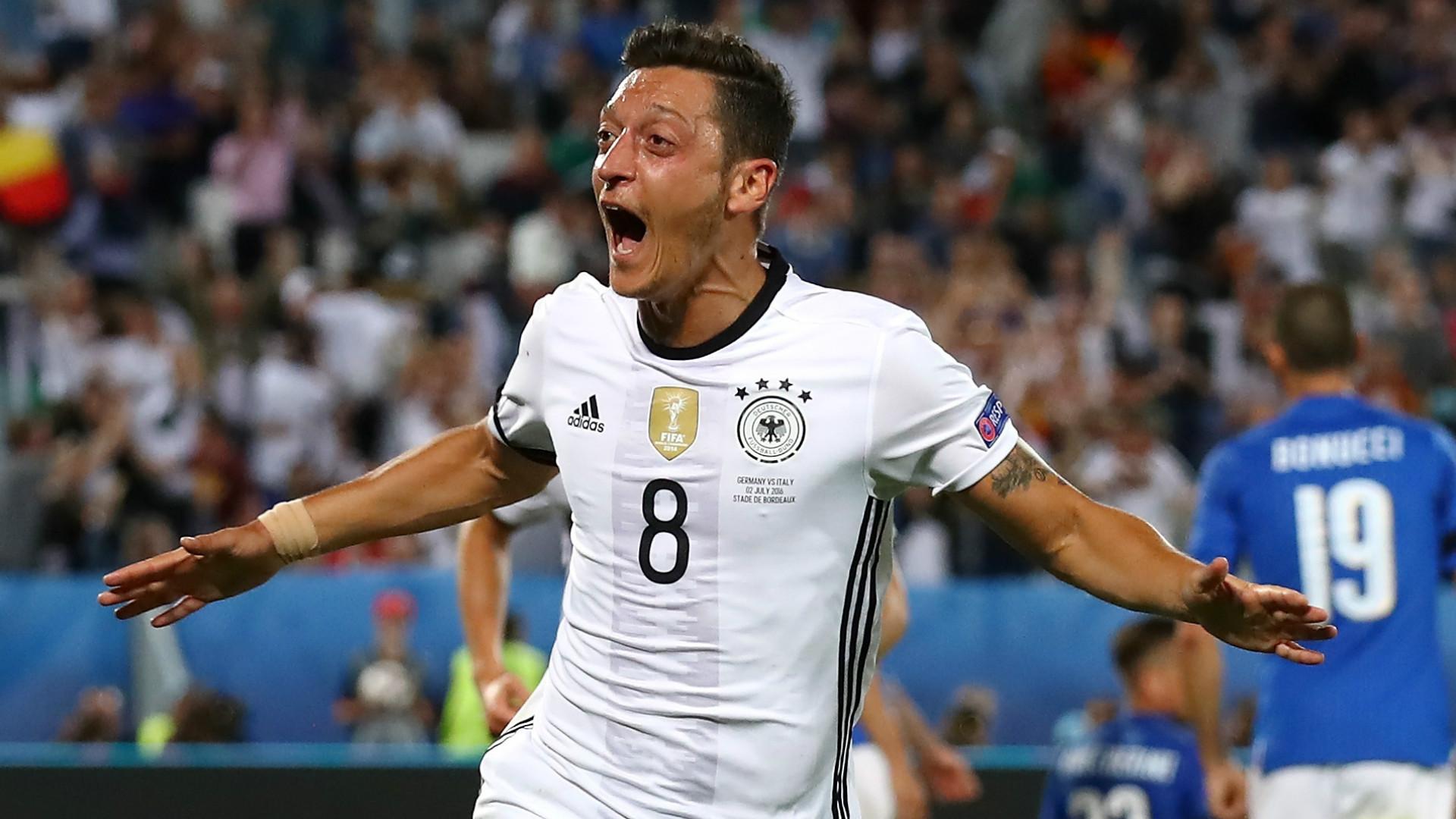 Mesut Ozil Germany Euro 2016
