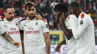 Genoa Milan Bonaventura Paqueta Kessie Leao Serie A 2019/2020