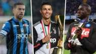 Papu Gomez Cristiano Ronaldo Kalidou Koulibaly