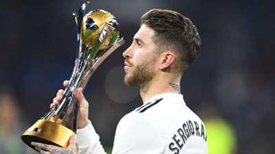 Sergio Ramos Club World Cup trophy 2018