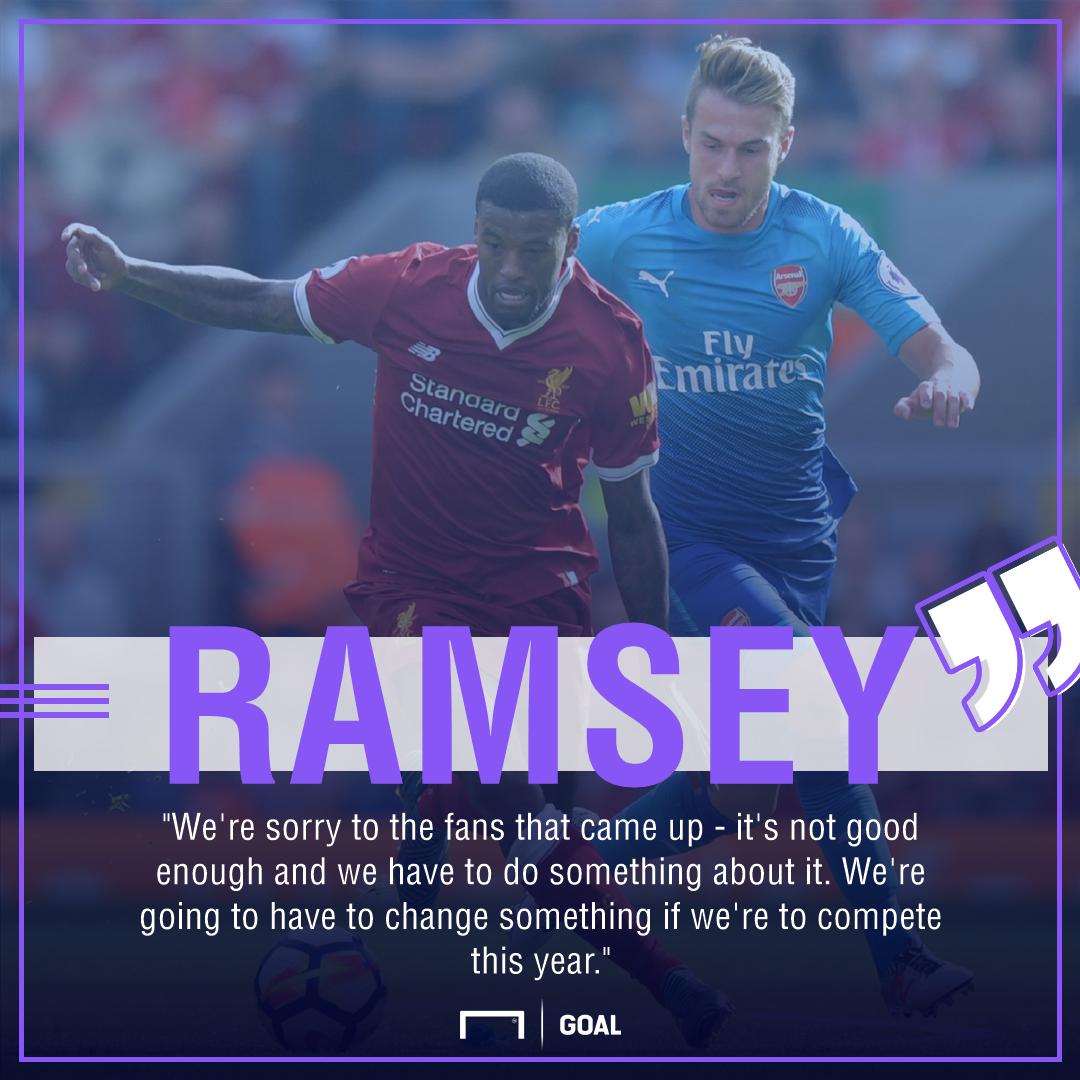 Aaron Ramsey Arsenal improve change