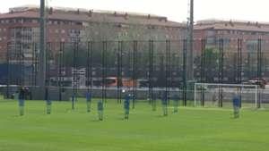 FC Barcelona entrenamiento