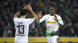 Denis Zakaria Borussia Mönchengladbach Gladbach M'Gladbach Bundesliga 27102019