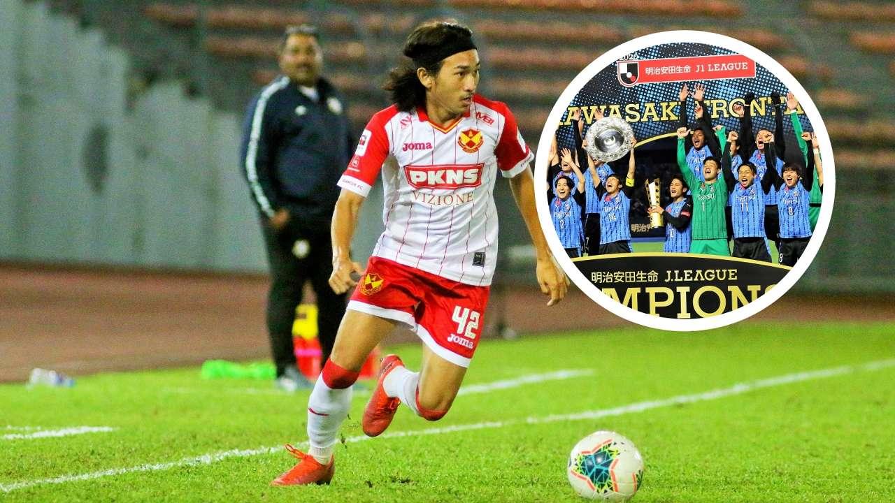 Aliff Haiqal, J-League insert