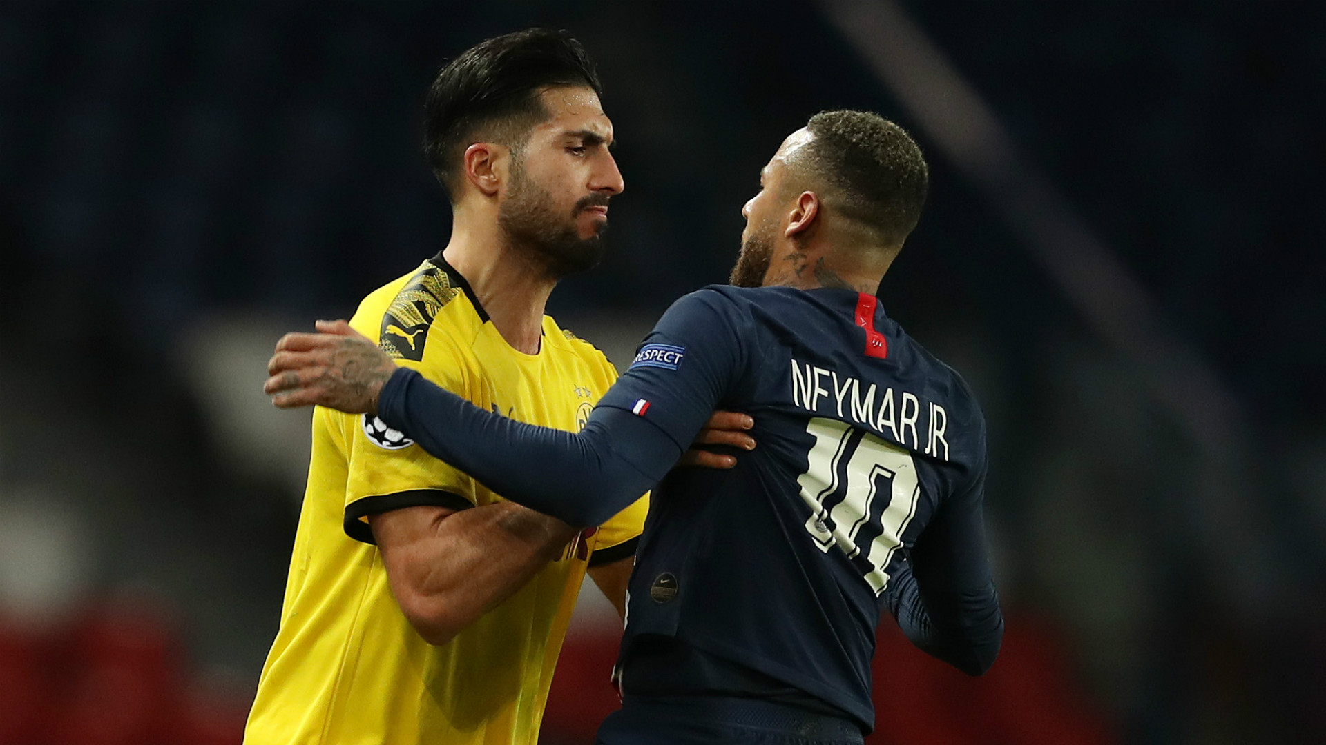 'Neymar is a good actor' – Emre Can's red card branded 'almost ridiculous' by Dortmund