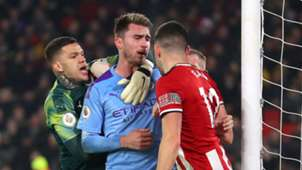 Aymeric Laporte Man City Sheffield United