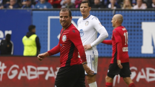 VIDEO: Arjen Robben & Co. zaubern bei Van der Vaarts Abschied