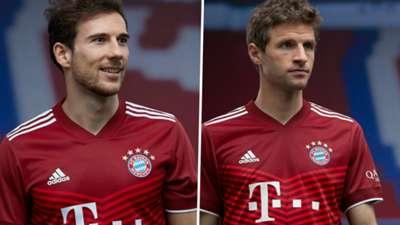 Bayern Munich home kit adidas 2021-22