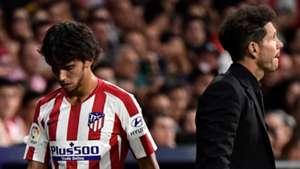 Diego Simeone Joao Felix Atletico de Madrid