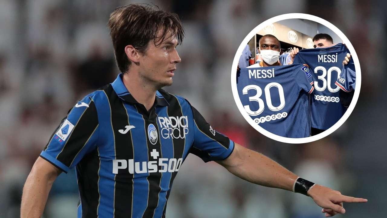 Marten de Roon Messi shirt