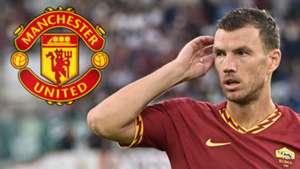 Bericht: Manchester United erwägt Winter-Transfer von Roma-Stürmer Edin Dzeko