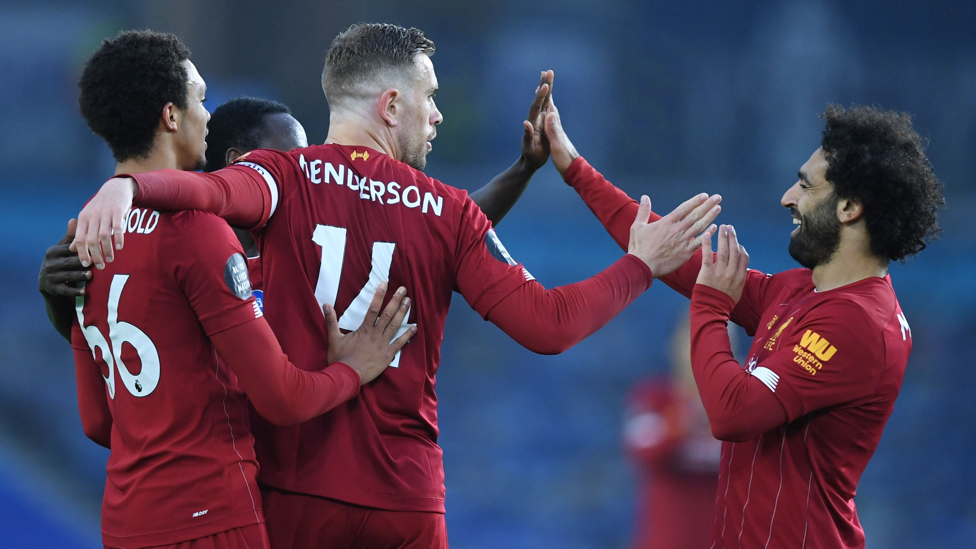 Brighton - Liverpool 1-3, Salah voit double pour les Reds