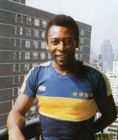 Pele Boca Juniors