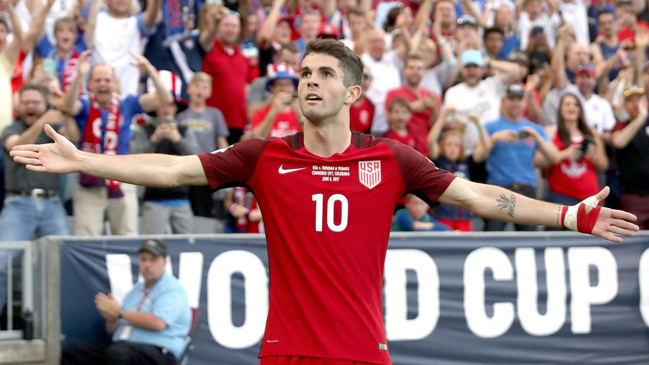 Christian Pulisic USA 06082017