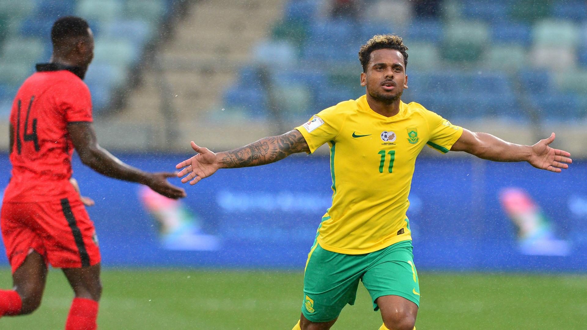 Mamelodi Sundowns' Erasmus keen to translate club form to Bafana Bafana