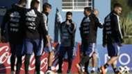 Messi Entrenamiento Argentina 22052018