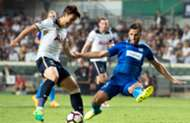 HKJC Kitchee Challenge Cup, Kitchee 1:4 Tottenham Hotspur.