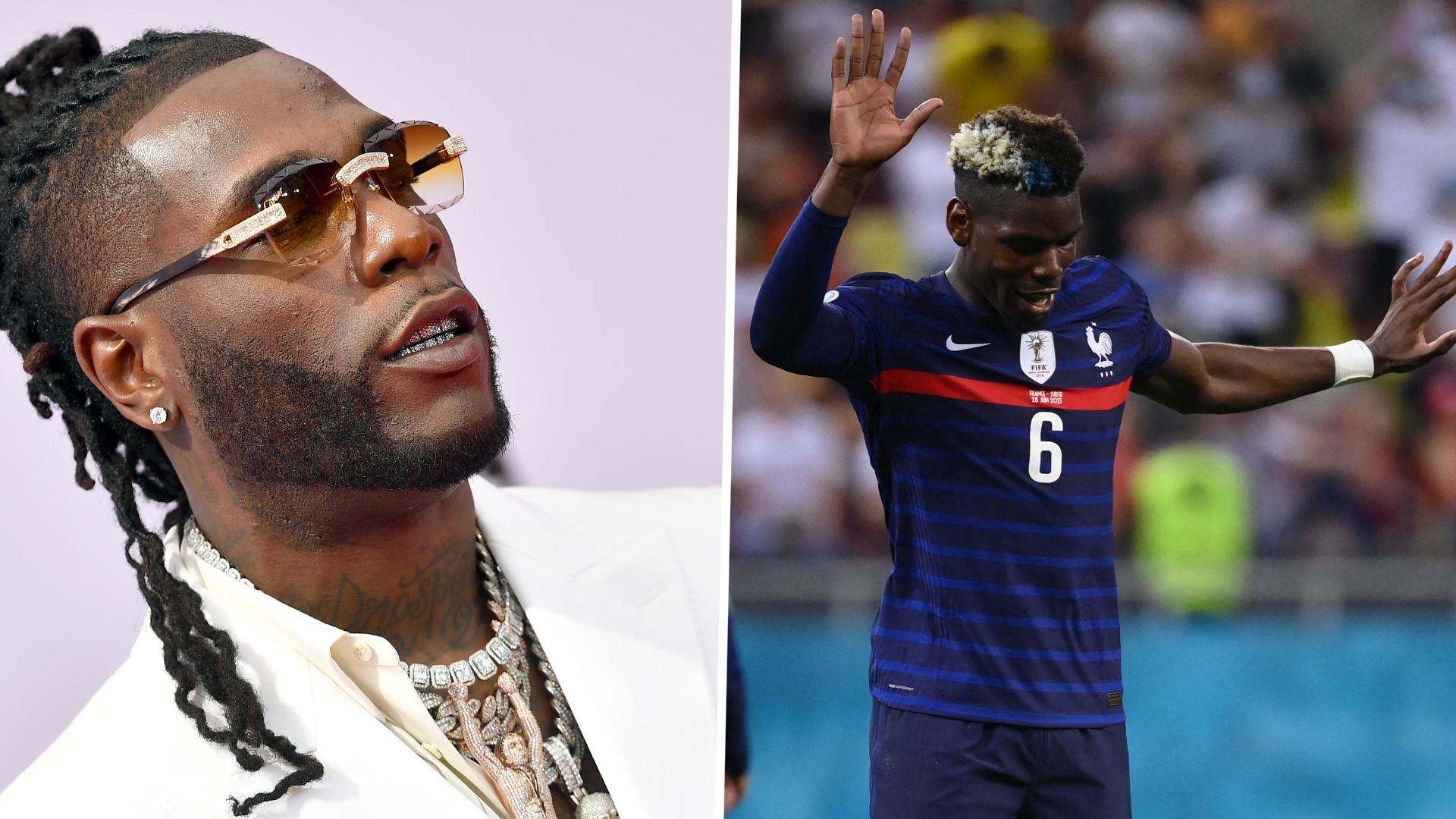 France and Manchester United star Pogba joins Burna Boy's birthday celebration in Miami