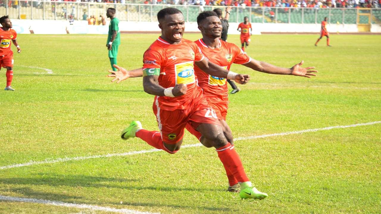 Asante Kotoko captain Amos frimpong