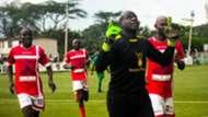 Western Stima goalkeeper Samuel Odhiambo.