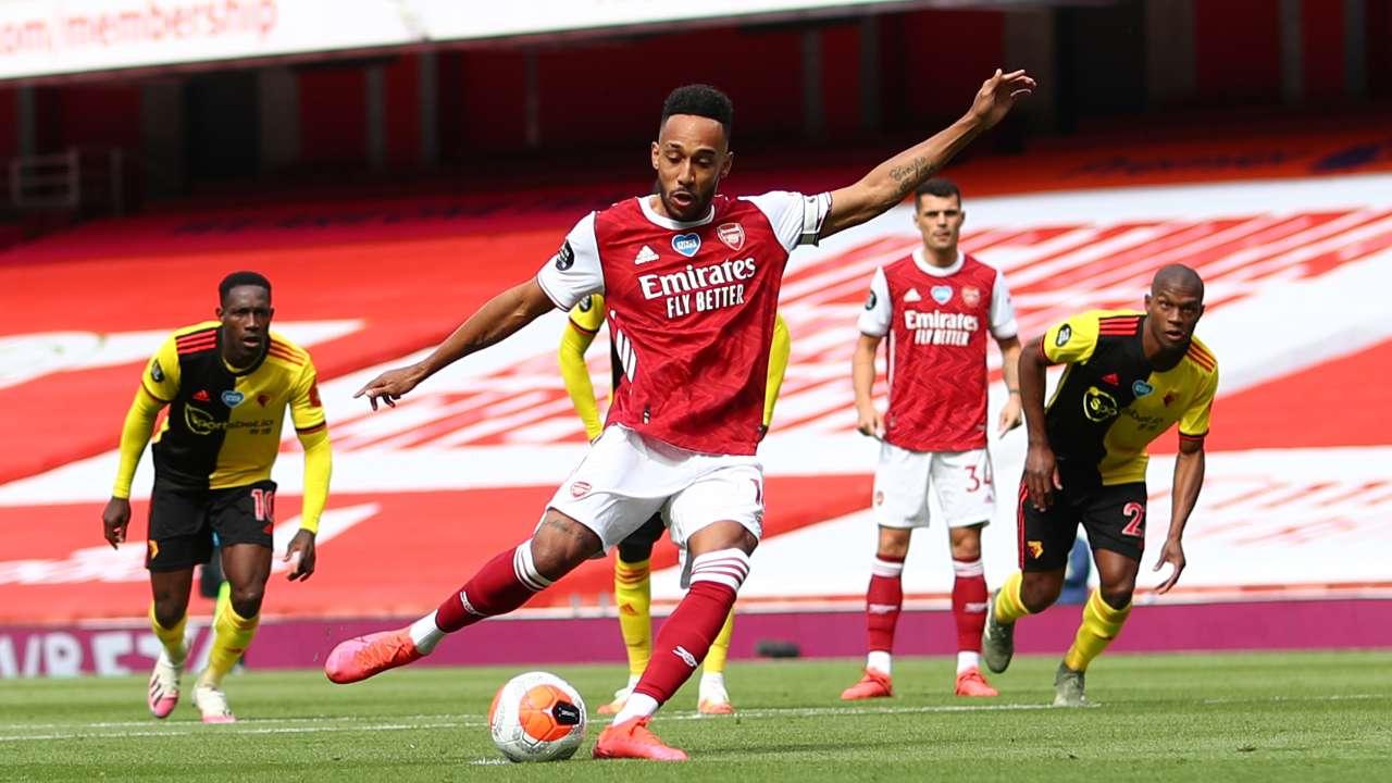 Aubameyang Arsenal Premier League 2020