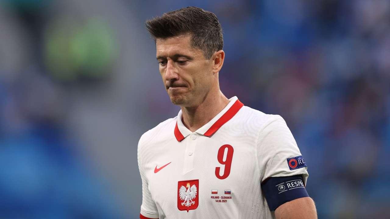 Robert Lewandowski Poland 2021