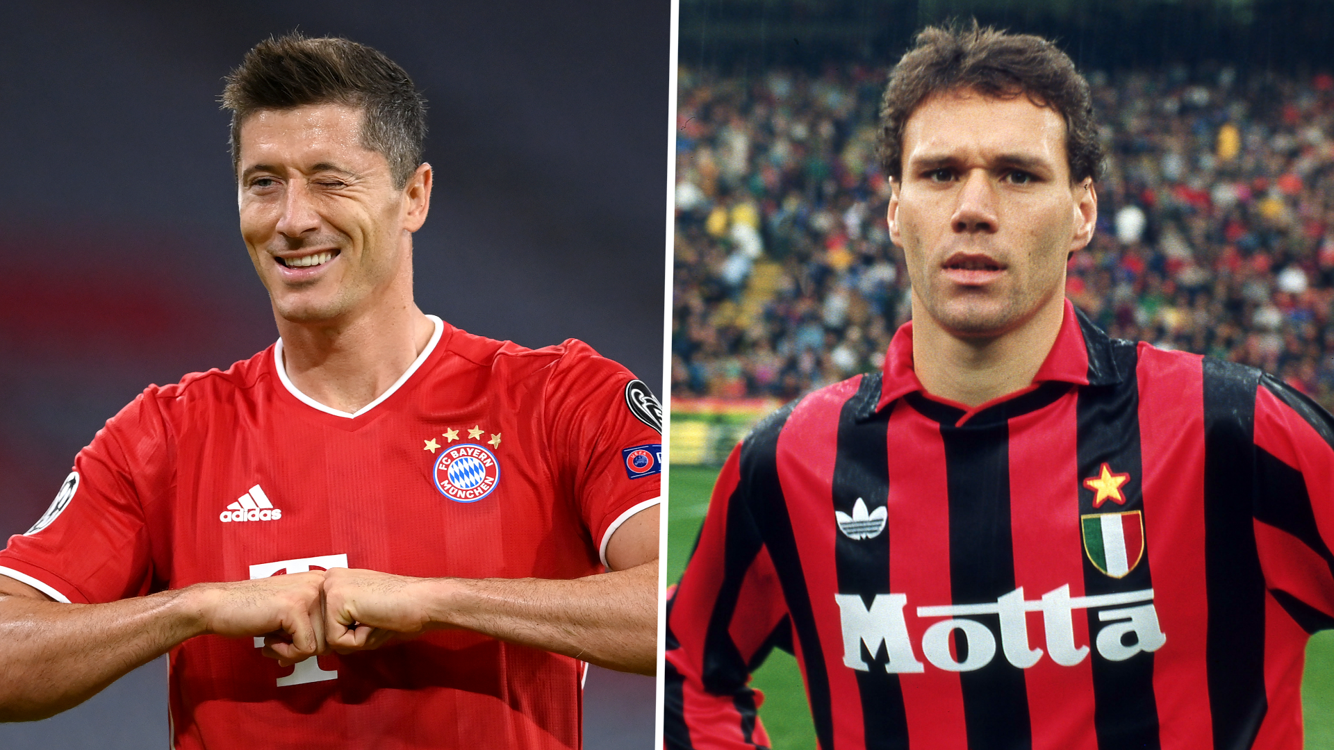 'Lewandowski the closest I've seen to Van Basten' - Ferdinand salutes Bayern star
