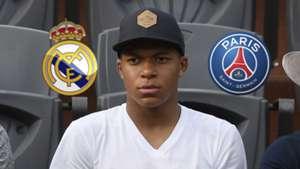 Kylian Mbappe Real Madrid PSG